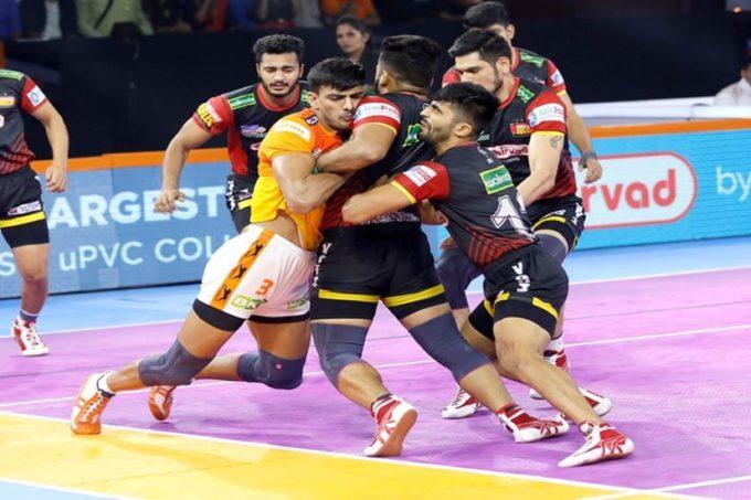 आखिरी घरेलू मैच में पुणेरी पलटन की शानदार जीत, बेंगलुरु बुल्स को 4 अंक सेहराया