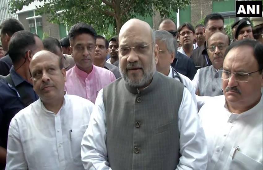 BJP, Amit Shah, Home minister, BJP president, JP Nadda, Delhi BJP leader, Vijender Gupta, AIIMS, Seva Saptah Campaign, PM Modi birthday, Gautam Gambhir, Meenakshi Lekhi, Hansraj Hans, india news, Hindi news, news in Hindi, latest news, today news in Hindi
